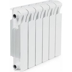 Радиатор отопления RIFAR MONOLIT 350 6 секций биметаллический боковое подключение (RM35006)