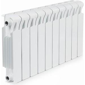 Радиатор отопления RIFAR MONOLIT 350 10 секций биметаллический боковое подключение (RM35010) termolux a80 350 ral9016 10 секций
