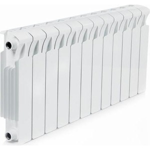 Радиатор отопления RIFAR MONOLIT 350 12 секций биметаллический боковое подключение (RM35012) фото