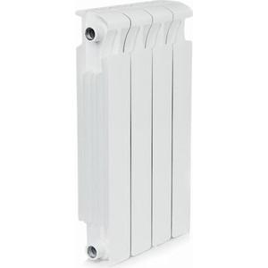 Радиатор отопления RIFAR MONOLIT 500 4 секции биметаллический боковое подключение (RM50004) биметаллический радиатор radena cs 500 4 секции