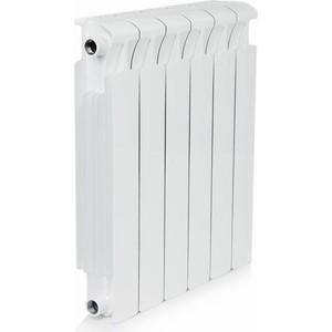 Радиатор отопления RIFAR MONOLIT 500 6 секций биметаллический боковое подключение (RM50006)