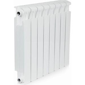 Радиатор отопления RIFAR MONOLIT 500 8 секций биметаллический боковое подключение (RM50008) радиатор отопления rifar supremo 500 14 секций биметаллический боковое подключение