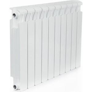 Радиатор отопления RIFAR MONOLIT 500 10 секций биметаллический боковое подключение (RM50010) биметаллический радиатор rifar monolit 500 5 сек