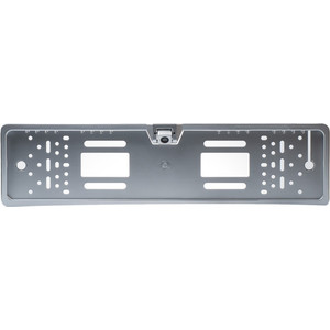 Камера заднего вида Blackview UC-77 Silver LED+ (рамка под номерной знак со светодиодной подсветкой) слэп лента bradex со светодиодной подсветкой цвет синий черный