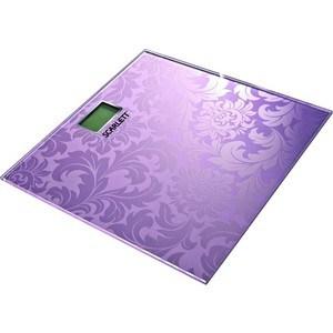 Весы напольные Scarlett SC-217, розовый весы scarlett sc bs33e064
