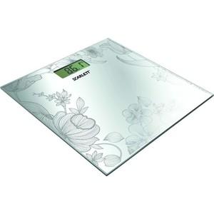 Весы напольные Scarlett SC-215, серебро весы scarlett sc bs33e064
