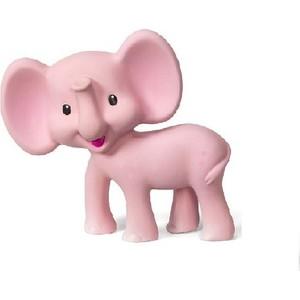 Прорезыватель Infantino розовый слоненок (506-825) развивающая игрушка infantino розовый телефон 506 504