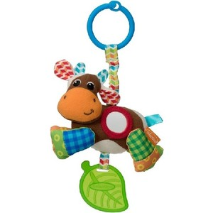 Развивающая игрушка Infantino коровка (506-845) развивающая игрушка infantino розовый телефон 506 504
