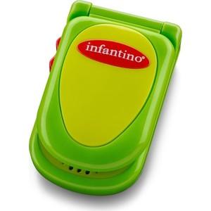 Развивающая игрушка Infantino зеленый телефон (506-307) развивающая игрушка infantino розовый телефон 506 504