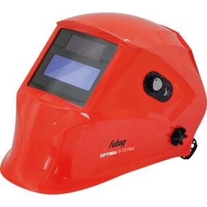 Сварочная маска Fubag Optima 9-13 Red Хамелеон маска сварщика fubag хамелеон optima 4 13 38438 visor black