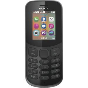 Мобильный телефон Nokia 130 Dual Sim Black мобильный телефон nokia 105 2017 dual sim black