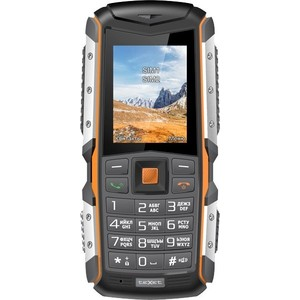 Мобильный телефон TeXet TM-513R Black/Orange texet tm 228 dual sim black