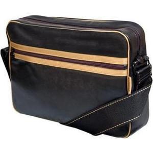 Сумка для ноутбука Continent CC-065 Black/Gold (искусственная кожа до 15.6) цена