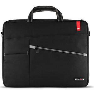 Сумка для ноутбука Crown CMB-558 Black (до 17) crown micro cmls 01 black red охлаждающая подставка для ноутбука 17