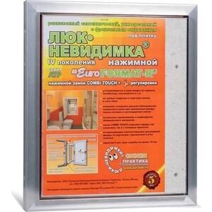 Сантехнический люк ППК Практика EuroFORMAT-R 4 под плитку (АТР 30-30) цена