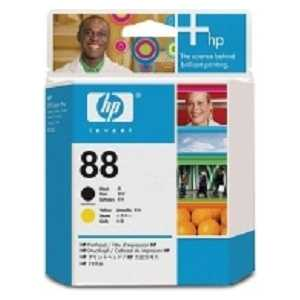 Печатающая головка HP №88 Black/ Yellow (4C9381A)