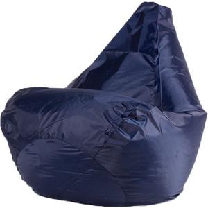 Кресло-мешок Bean-bag Темно-синее L