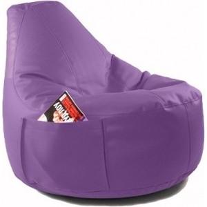 Кресло-мешок DreamBag Comfort berry (экокожа) кресло мешок bean bag comfort orange экокожа