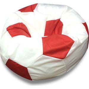 Кресло мяч DreamBag Оксфорд бело-красный