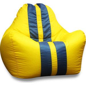 все цены на Кресло-мешок DreamBag Спорт желтое онлайн