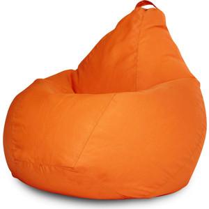 Кресло-мешок Bean-bag фьюжн оранжевое XL