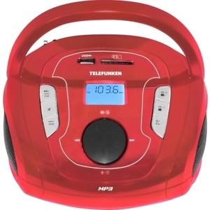 Магнитола TELEFUNKEN TF-SRP3471B red цена и фото