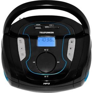 Магнитола TELEFUNKEN TF-SRP3471B black/blue цена и фото