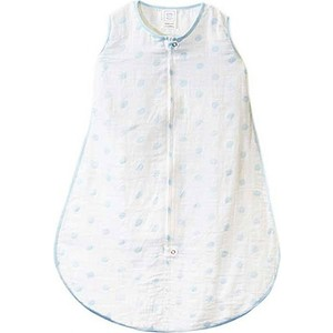 Спальный мешок SwaddleDesigns Muslin zzZipMe Sack - 3-6M Blue Dots (SDM-401 B-S) lamark wave 5mm x 6m light blue cr0670 lb