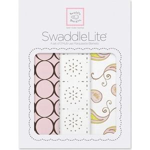 Набор пеленок SwaddleDesigns SwaddleLite Modern Pink (SD-445P) набор пеленок swaddledesigns swaddle duo lv classic chevron sd 484l