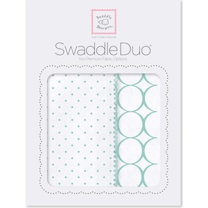 Набор пеленок SwaddleDesigns Swaddle Duo SC Classic (SD-186SC) набор пеленок swaddledesigns swaddle duo pk peace lv sw sd 185p