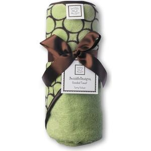 Полотенце с капюшоном SwaddleDesigns Полотенце с капюшоном Hooded Towel Lime w/BR Mod C (SD-060LM) цены