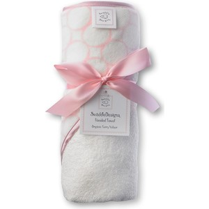Полотенце с капюшоном SwaddleDesigns Полотенце с капюшоном Hooded Towel - Organic Pink Mod on IV (SD-071PP) полотенце nike sport towel n tt 01 969 lg