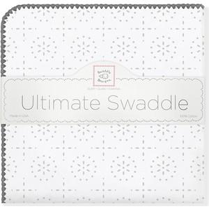 Фланелевая пеленка SwaddleDesigns для новорожденного ST Sparklers (SD-420ST) фланелевая пеленка swaddledesigns для новорожденного orange mod wh sd 022o