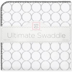 Фланелевая пеленка SwaddleDesigns для новорожденного Sterling Mod/WH (SD-022ST/SD-022KW) цены