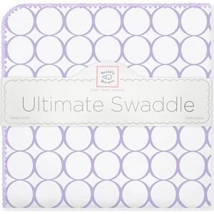 Фланелевая пеленка SwaddleDesigns для новорожденного Lavender Mod/WH (SD-022L) цены