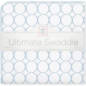 купить Фланелевая пеленка SwaddleDesigns для новорожденного Ultimate Blue Mod on WH (SD-022PB) по цене 1479 рублей