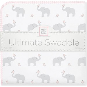 Фланелевая пеленка SwaddleDesigns для новорожденного PP Elephants/Chicks (SD-460PP) ранец albion turbo chicks