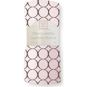 цена Пеленка детская тонкая SwaddleDesigns Маркизет Pink w/BR Mod C (SD-050PP) онлайн в 2017 году