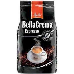 Кофе в зернах Melitta BC Espresso 1000гр melitta кофе bellacrema espresso молотый со стеклянной сахарницей в подарок 250 г