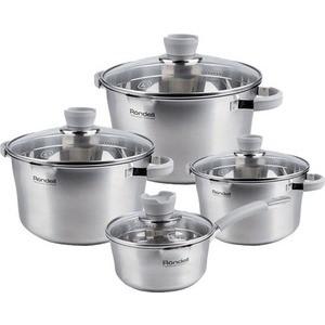 Набор посуды из 8 предметов Rondell Favory (RDS-743) набор посуды rainstahl 8 предметов 0716bh