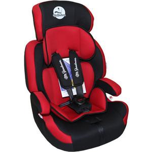 Автокресло Mr Sandman GoodLuck Isofix 9-36 кг Черный/Красный (AMSGLI-0520KRES1018)