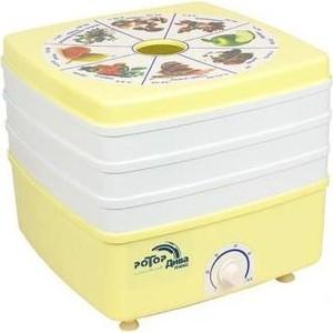 Сушилка для овощей Ротор СШ-010-02 5 решеток (Дива - Люкс, гофротара) сушилка для овощей и фруктов ротор дива люкс сш 010 04 белый 5 поддонов