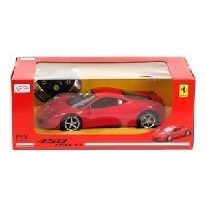 Машинка XQ Ferrari Rastar 1:14 458 Italia со светом (47300-Rastar) opium 458 1