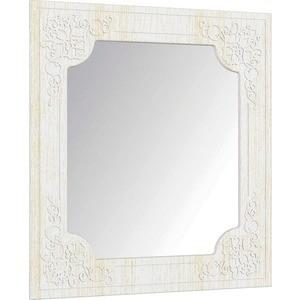 Зеркало Compass СО-20 Премум белый струк ясень патина