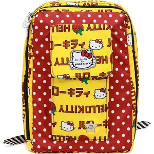 цена Рюкзак для мамы Ju-Ju-Be Mini Be hello kitty strawberry stripes (14BP02HK-3760) онлайн в 2017 году