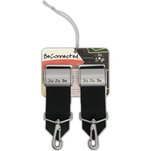 Крепления для колясок к сумкам и рюкзакам Ju-Ju-Be Be Connected Clips silver (06AA11A-1042)
