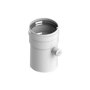 цена на Патрубок STOUT диаметр 80 длина 125 мм п/м с ревизионным патрубком (SCA-0080-010125)