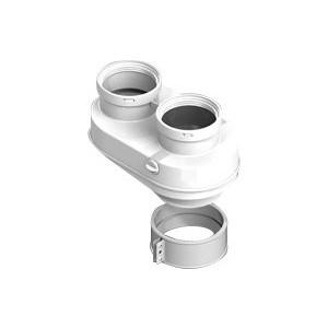 Адаптер STOUT для подключения раздельных труб диаметр 80/80 (SCA-8080-210002)