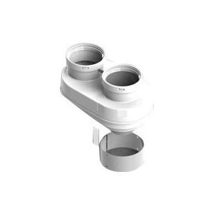 Адаптер STOUT для подключения раздельных труб диаметр 80/80 (SCA-8080-230002)