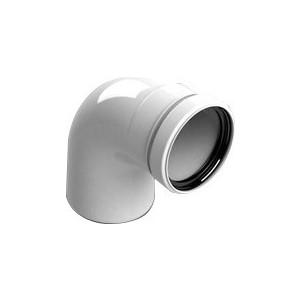 Отвод STOUT 87 градусов диаметр 80 м/п PP-FE (SCA-8080-000090)